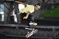 """<p>Duran is considered a standout technical skater who """"represents the next generation of female street skaters,"""" according to her <a href=""""http://usaskateboarding.com/blogs/2020-usa-skateboarding-national-team/mariah-duran-womens-street"""" class=""""link rapid-noclick-resp"""" rel=""""nofollow noopener"""" target=""""_blank"""" data-ylk=""""slk:USA Skateboarding profile"""">USA Skateboarding profile</a>. You might recognize Mariah from her <a href=""""http://youtu.be/wt3L69XFD0g"""" class=""""link rapid-noclick-resp"""" rel=""""nofollow noopener"""" target=""""_blank"""" data-ylk=""""slk:Mountain Dew"""">Mountain Dew</a> or <a href=""""http://www.youtube.com/watch?v=qso_CoddCmQ"""" class=""""link rapid-noclick-resp"""" rel=""""nofollow noopener"""" target=""""_blank"""" data-ylk=""""slk:Adidas commercials"""">Adidas commercials</a>.</p> <p><strong>Olympic Team:</strong> Women's Skateboard Street</p> <p><strong>Age:</strong> 24<br></p> <p><strong>Hometown:</strong> Albuquerque</p> <p><strong>Instagram:</strong> <a href=""""http://instagram.com/mariahduran_"""" class=""""link rapid-noclick-resp"""" rel=""""nofollow noopener"""" target=""""_blank"""" data-ylk=""""slk:@mariahduran_"""">@mariahduran_</a></p>"""