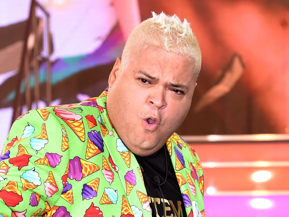 <p>Heavy D entering the 'Celebrity Big Brother' house in 2016</p>Rex Features