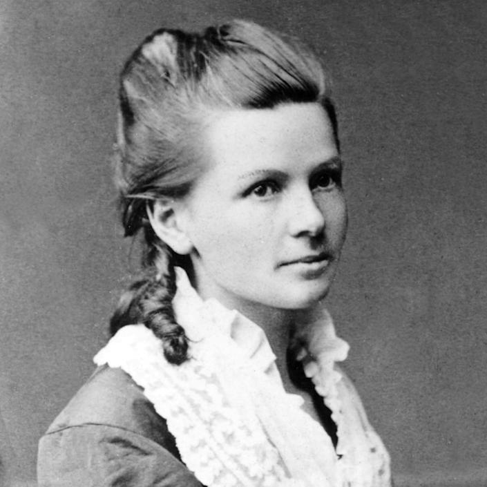 Bertha Bertha Benz, wife and business partner of automobile inventor Karl Benz.. Image shot 1871Benz - GL ArchiveAlam/Alamy