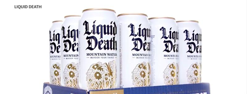 case of liquid death