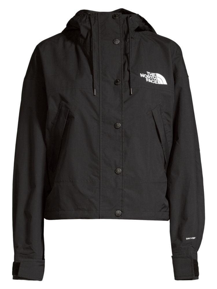 """<p><strong>The North Face</strong></p><p>saksfifthavenue.com</p><p><strong>$107.40</strong></p><p><a href=""""https://go.redirectingat.com?id=74968X1596630&url=https%3A%2F%2Fwww.saksfifthavenue.com%2Fthe-north-face-reign-on-relax-fit-nylon-jacket%2Fproduct%2F0400011648959&sref=https%3A%2F%2Fwww.harpersbazaar.com%2Ffashion%2Ftrends%2Fg31902874%2Fsaks-spring-2020-sale%2F"""" rel=""""nofollow noopener"""" target=""""_blank"""" data-ylk=""""slk:Shop Now"""" class=""""link rapid-noclick-resp"""">Shop Now</a></p><p>Look sporty and cool on your walk, run, or hike.</p>"""