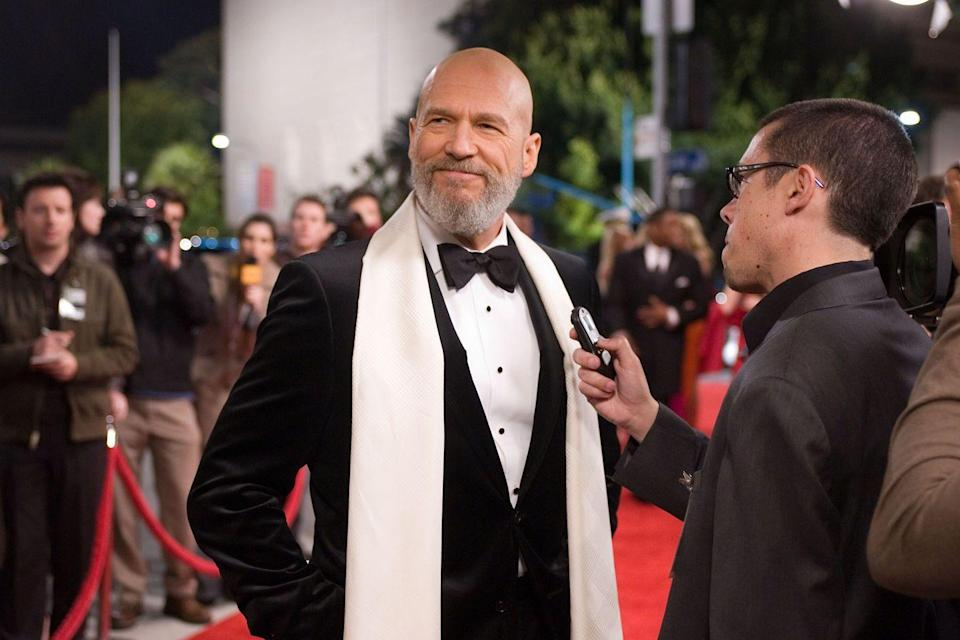 <p>We're used to seeing Jeff Bridges with a full head of long silver locks, so it was startling when the actor revealed a shaved header when he took on the role of Obadiah Stane. However, he did keep the beard. </p>