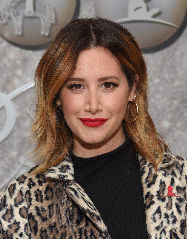 Actress and new interior designer Ashley Tisdale