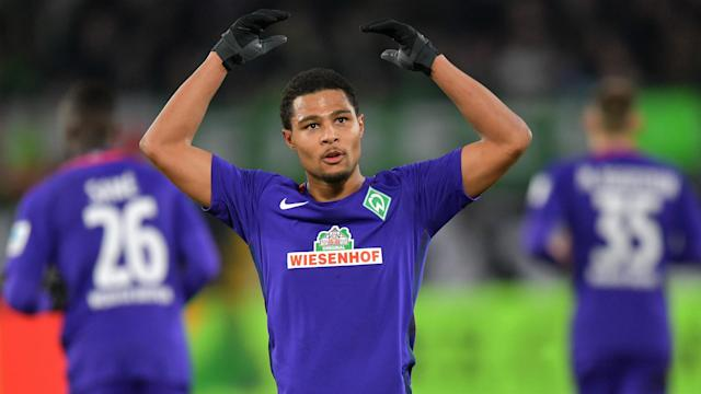 Serge Gnabry has shone for Werder Bremen since leaving Arsenal and RB Leipzig are now considering a transfer bid.