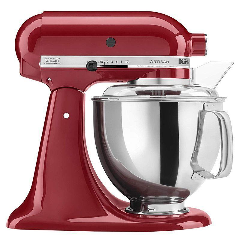 """<p><strong>KitchenAid</strong></p><p>amazon.com</p><p><strong>399.99</strong></p><p><a href=""""https://www.amazon.com/dp/B00HM1TYJS?tag=syn-yahoo-20&ascsubtag=%5Bartid%7C10054.g.2121%5Bsrc%7Cyahoo-us"""" rel=""""nofollow noopener"""" target=""""_blank"""" data-ylk=""""slk:Buy"""" class=""""link rapid-noclick-resp"""">Buy</a></p><p>This is the pinnacle of all kitchen appliances: a KitchenAid mixer to proudly display on the counter and to use for all her best baking.</p>"""