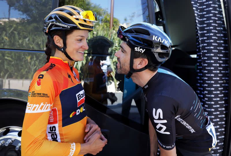 Britain's Deignan beats Vos to win La Course thriller