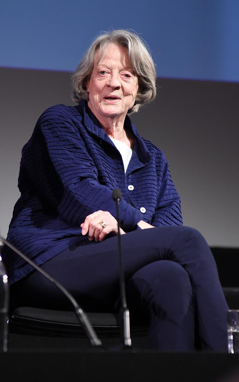 Dame Maggie has won two Oscars - Credit: Getty