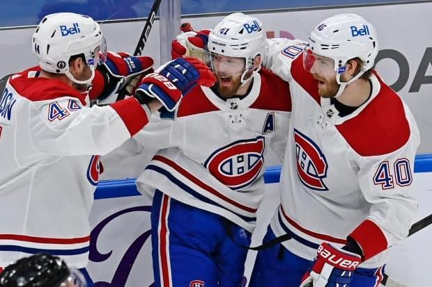 The surging Montreal Canadiens are entering their Stanley Cup semifinal series against the Las Vegas Golden Knights with a high level of confidence despite being the underdogs. Montreal last made it this far in 2014. (Frank Gunn/The Canadian Press - image credit)