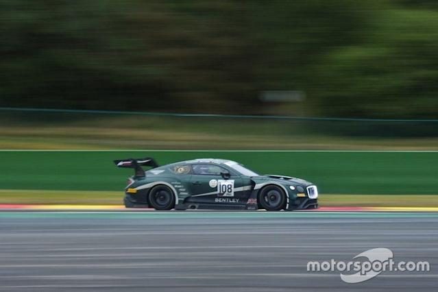 "#108 Bentley Team M-Sport Bentley Continental GT3: Alex Buncombe, Markus Palttala, Maxime Soulet <span class=""copyright"">Marc Fleury</span>"