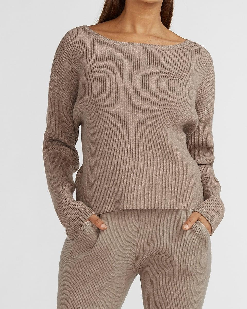 <p>This <span>Cozy Ribbed Bateau Neck Sweater</span> ($30, originally $60) makes it so easy to look dressed up, minimal effort required.</p>