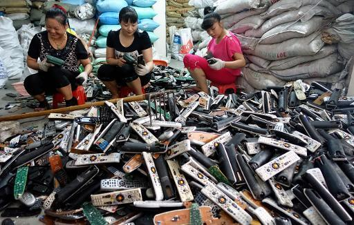 E-waste inferno burning brighter in China's recycling capital