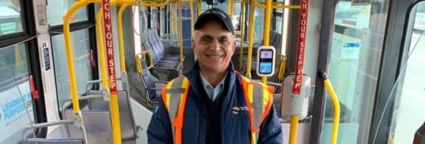 Charanjit Parhar died after an accident left him pinned between two buses in Vancouver on Monday.  (Facebook - image credit)