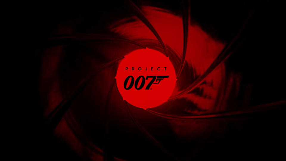 Logo treatment for James Bond video game 'Project 007'. (Credit: IO Interactive)
