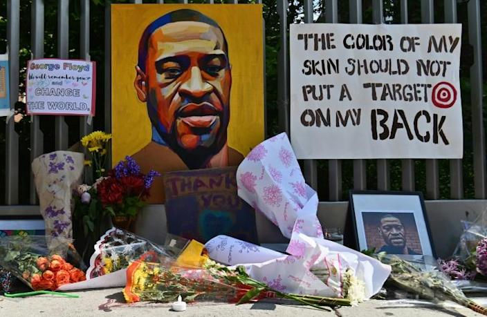 Anti-racism protests triggered worldwide after the police killing of George Floyd have many American newsrooms grappling with their own potential complicity when it comes to fraught race relations (AFP Photo/Angela Weiss)