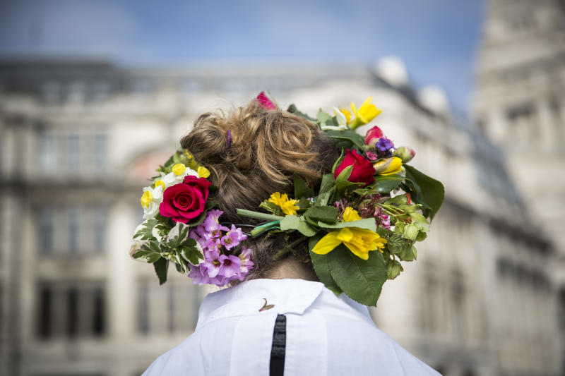 The vernal equinox is Monday and we're ready to break out our flower crowns