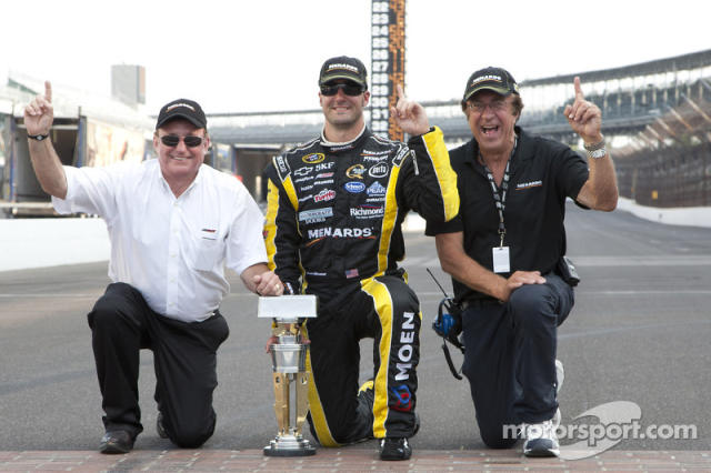 "Paul Menard - Richard Childress Racing - 2011 Brickyard 400 <span class=""copyright"">Ashley Dickerson, ASP Inc.</span>"