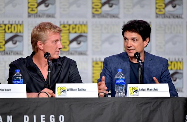 William Zabka y Ralph Macchio (Foto: Amy Sussman/Getty Images)