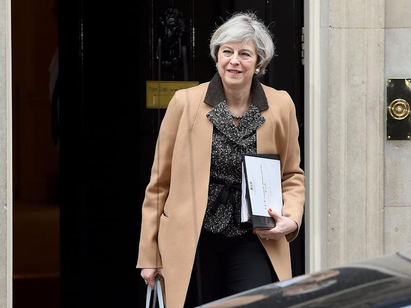 Theresa May is preparing to issue Article 50, which begins the process by which Britain will leave the European Union, on Wednesday: PA