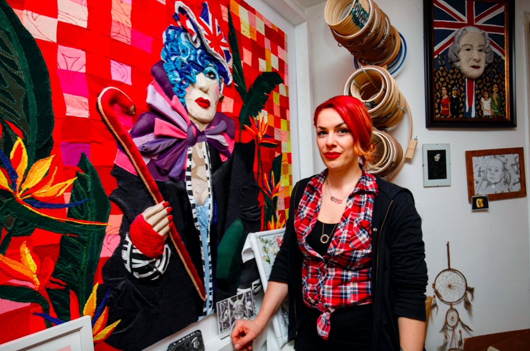 Jess De Wahls saw her work withdrawn from the Royal Academy of Arts gift shop following comments she previously made about sex and gender in 2019. (Getty)