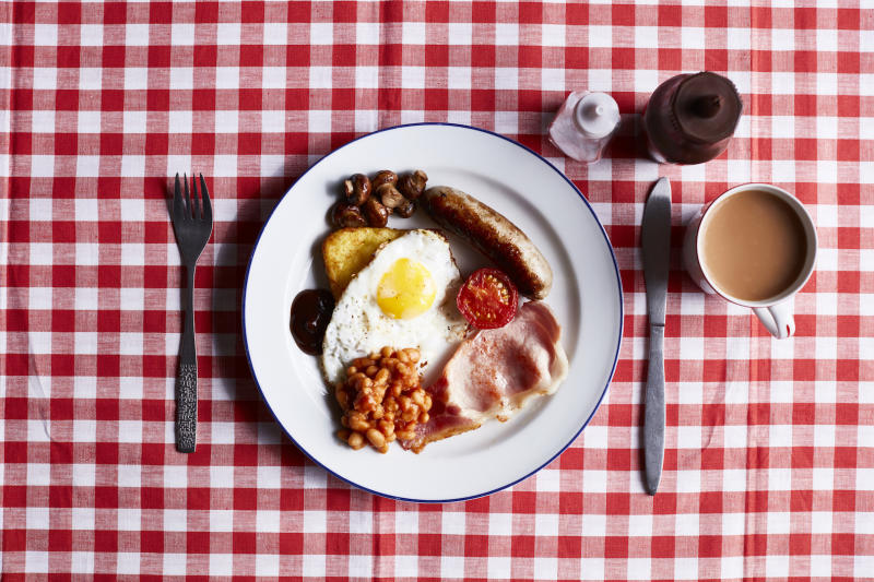 Nothing cures a hangover more than a hearty full English [Photo: Getty]