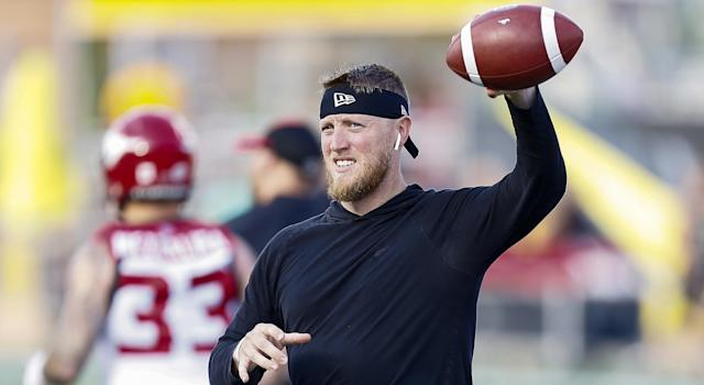 Bo Levi Mitchell says the Minnesota Vikings didn't want him to come in and compete for Kirk Cousins' job. (Getty)