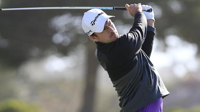 Canadian golfer and one-time PGA Tour winner Nick Taylor carded a bogey-free eight-under-par 63 in California.