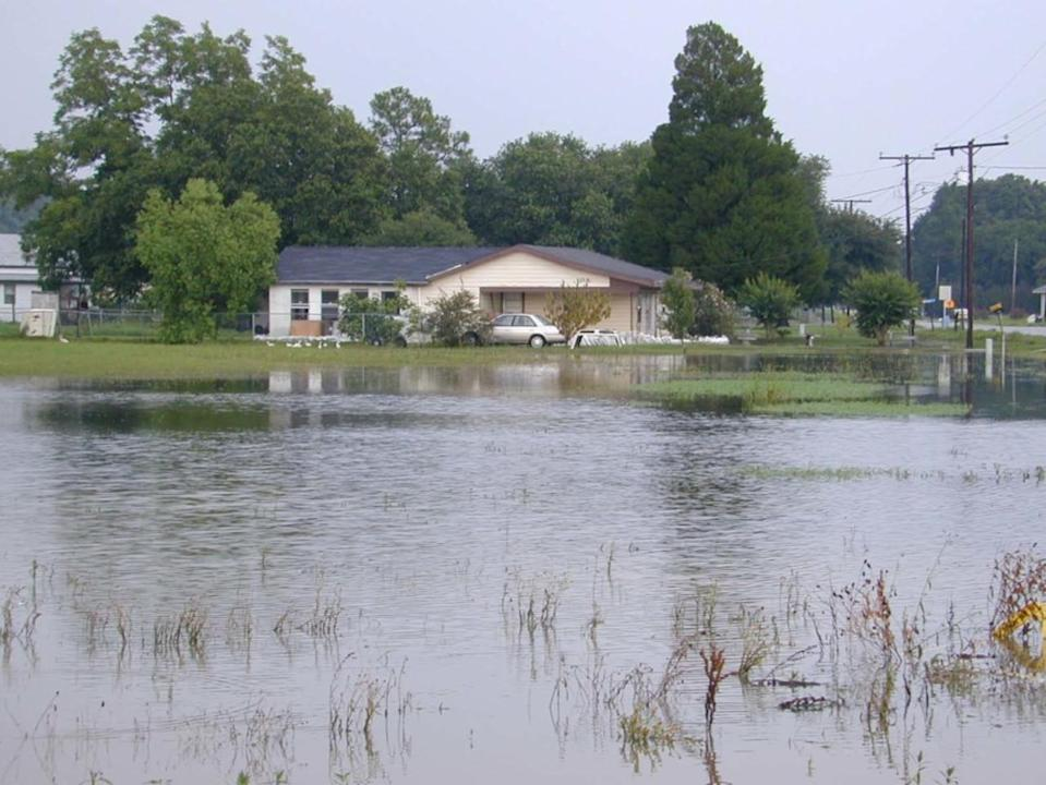 Tropical Storm Allison wasn't a hurricane, but it caused widespread devastation