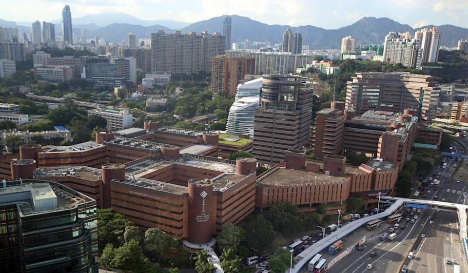 Polytechnic University, site of a 13-day siege during last year's anti-government protests, received donations of HK$363 million for 2019-20. Photo: David Wong