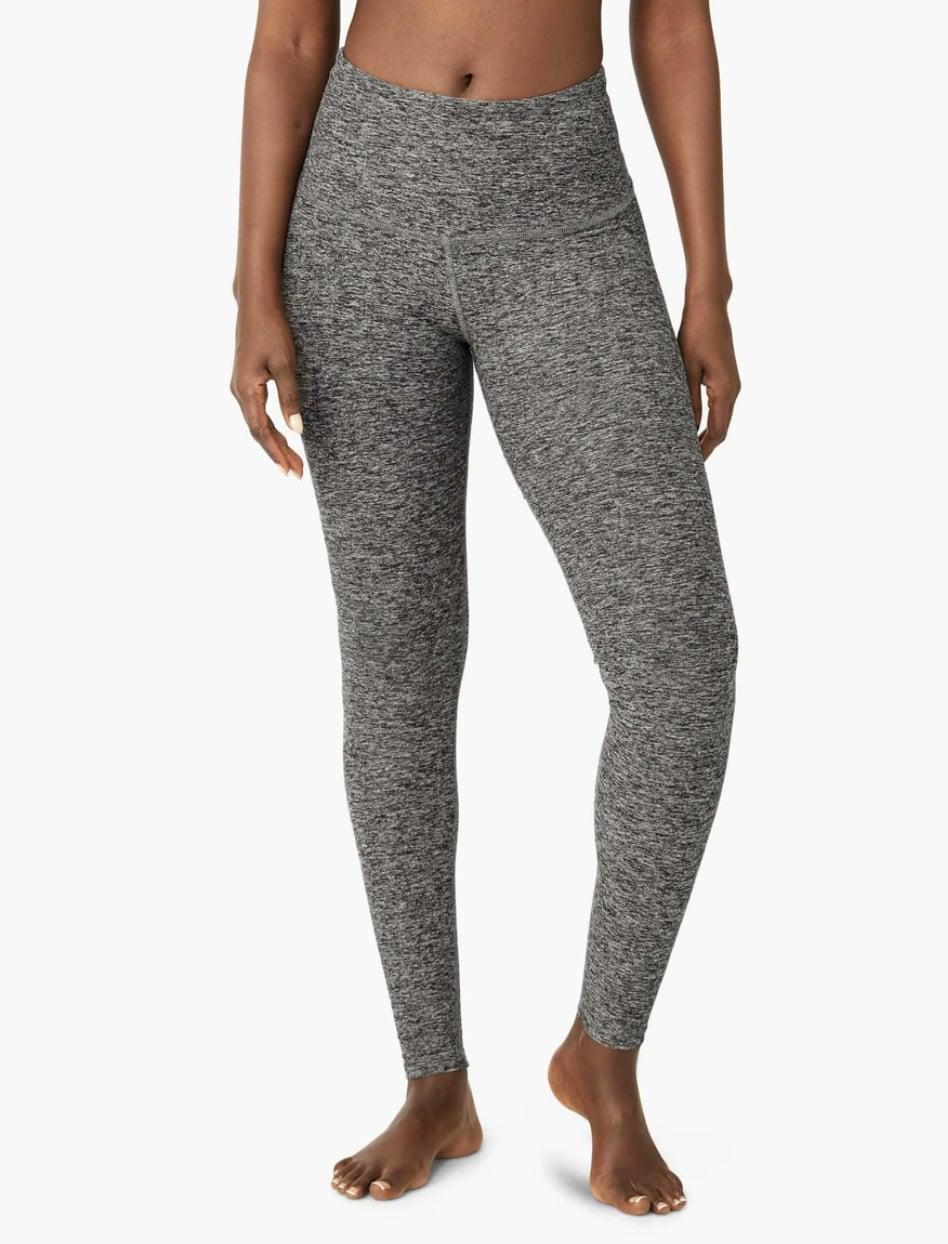 <p>Let's be honest - leggings are the ultimate Pilates wardrobe staple. Even if you typically prefer looser workout clothes, it is a good idea to consider form-fitting clothing for Pilates, especially if you are using equipment. The <span>Beyond Yoga Spacedeye Caught in the Midi High Waisted Leggings</span> ($97) are best-sellers and come in tons of different colors. </p>