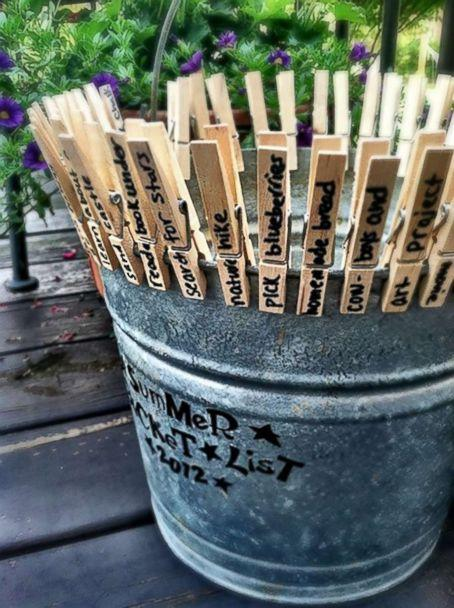 PHOTO: A summer bucket list craft. (Passionate Penny Pincher)