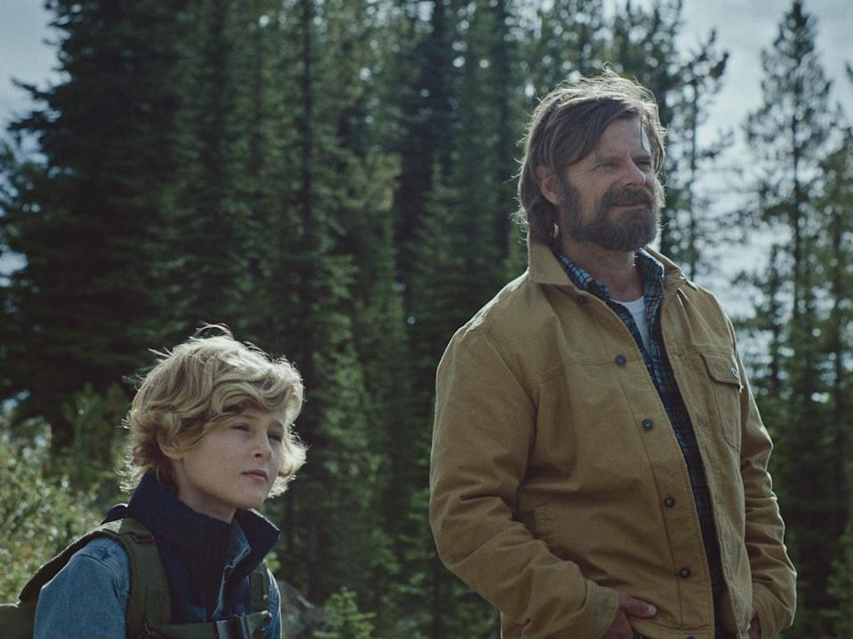 Into the wild: Sasha Knight and Steve Zahn in 'Cowboys'Blue Finch Film Releasing