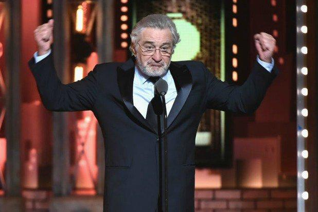 President hits back at Robert De Niro after 'F--k Trump' jab