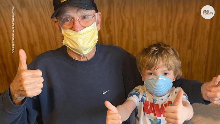 Bill Kelly fought in a world war and lived through the Great Depression. Now the 95-year-old has survived the coronavirus.