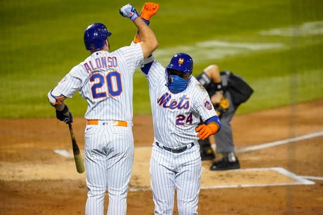 Alonso, Mets put Rays' clinch party on hold with 5-2 win