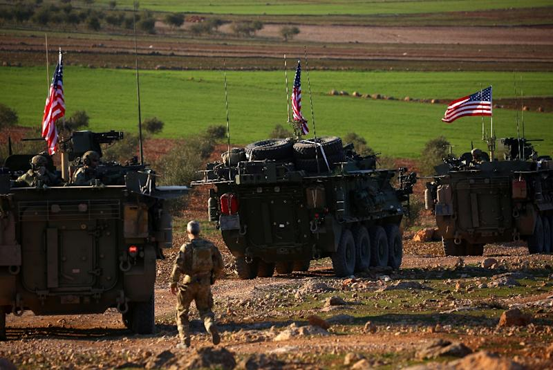 US President Donald Trump has ordered a complete withdrawal of US forces from Syria (AFP Photo/DELIL SOULEIMAN)