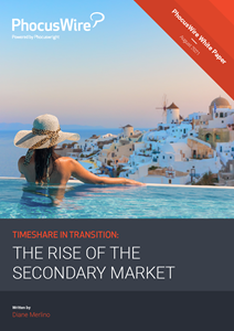 """""""Timeshare in transition: The rise of the secondary market"""" was developed by PhocusWire to provide a comprehensive look at this unique, often misunderstood segment of the timeshare industry."""