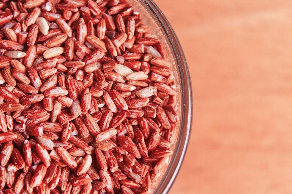 """<p>""""If you're suffering from a bout of <strong>diarrhea</strong>, cook brown rice in twice the normal amount of water, then strain it. Once the water is cool, drink it. It contains <a href=""""https://www.prevention.com/fitness/a21085214/what-are-electrolytes/"""" rel=""""nofollow noopener"""" target=""""_blank"""" data-ylk=""""slk:electrolytes"""" class=""""link rapid-noclick-resp"""">electrolytes</a> often lost with diarrhea. Replacing electrolytes can help ease the problem."""" </p><p><em>—Amy Rothenberg, N.D., Naturopathic Health Care, Enfield, CT</em></p>"""