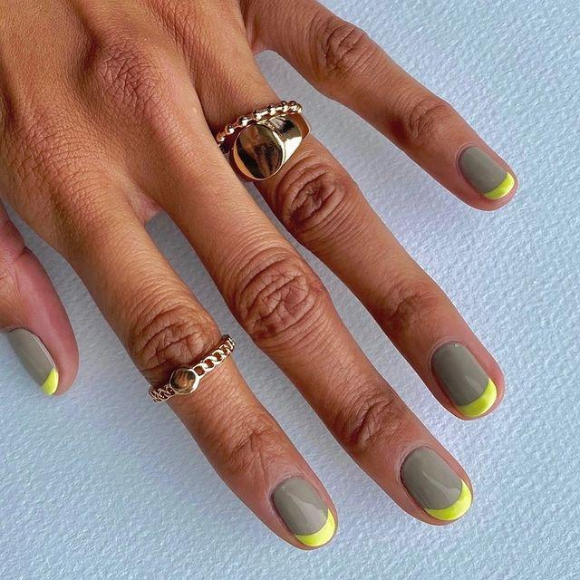 """<p>Yellow and grey is a pretty failsafe colour combination and you can go as bright as you want.</p><p><a href=""""https://www.instagram.com/p/CP8i0r9p1B6/"""" rel=""""nofollow noopener"""" target=""""_blank"""" data-ylk=""""slk:See the original post on Instagram"""" class=""""link rapid-noclick-resp"""">See the original post on Instagram</a></p>"""