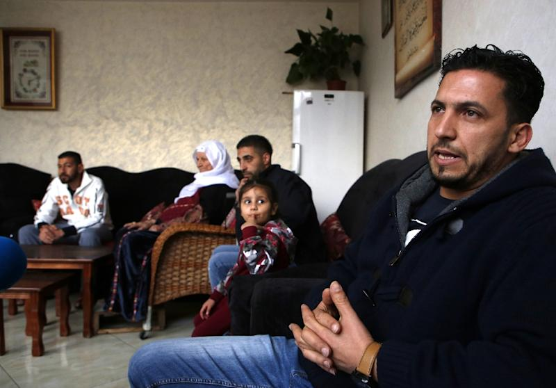 """Thaer Sharkawi is one of around five million Palestinian refugees spread across Lebanon, Jordan, Syria, Gaza and the West Bank, and like many he has never visited the place he calls """"home"""" (AFP Photo/ABBAS MOMANI)"""