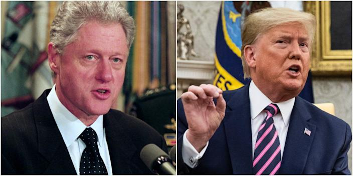 bill clinton donald trump 2