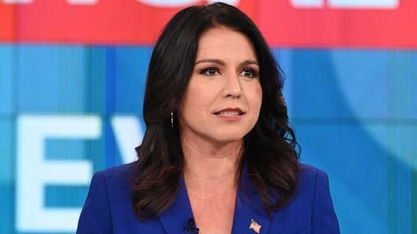 PHOTO: Hawaii Rep. Tulsi Gabbard appeared on 'The View,' Nov. 6, in her third appearance this year. (Jenny Anderson/Walt Disney Television)