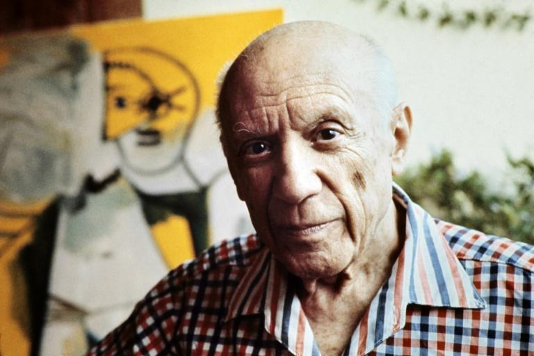 Picasso died in France in 1973