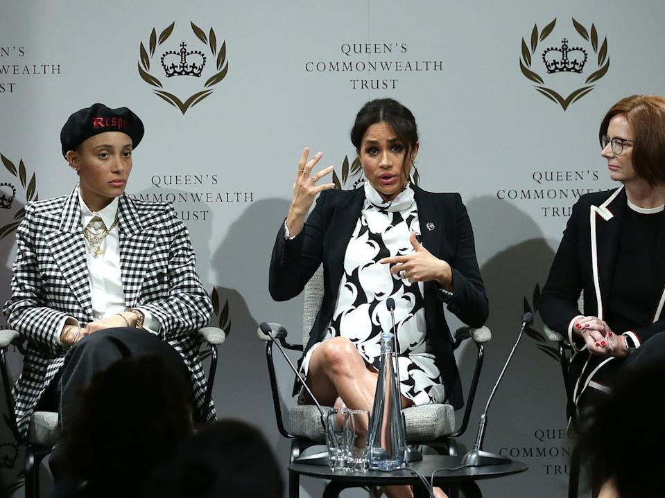 Meghan Markle panel women's day