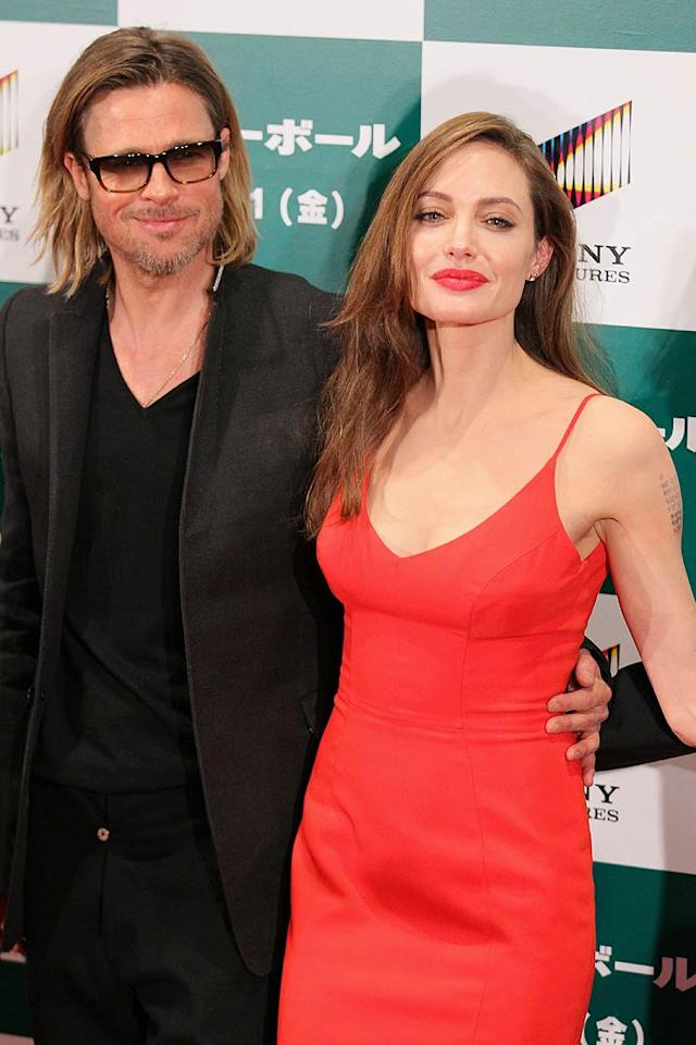 "<i>In Touch</i> reports that Angelina Jolie ""flew into a violent rage"" r<span style=""text-decoration:underline;""></span>ecently after ""catching"" Brad Pitt ""ogling online photos"" of his sexy costar Katia Bokor ""in a black lace bra and panties."" The mag says Jolie ""flipped out"" and slapped Pitt. For how Pitt explained his behavior, and why Jolie has reason to be concerned, log on to <a href=""http://www.gossipcop.com/brad-pitt-katia-bokor-world-war-z-angelina-jolie-jealous-rage-violent-slap-hit/"">Gossip Cop</a>."