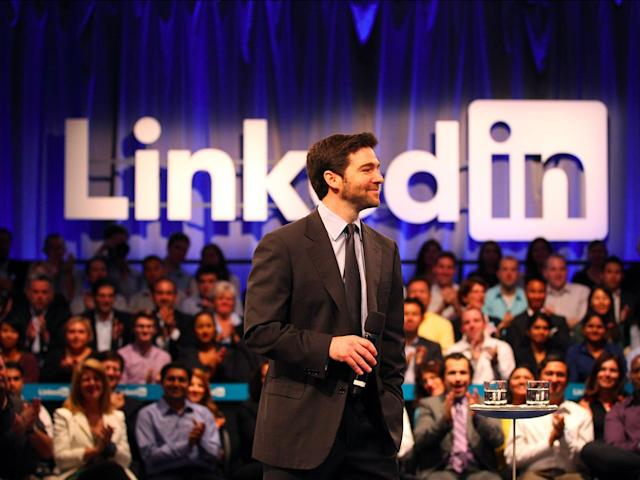 LinkedIn CEO Jeff Weiner. Photo: Stephen Lam/Getty Images