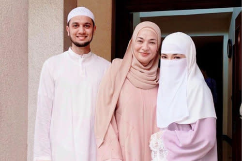 Speculations sparked when a photo from their previous betrothal was removed from social media by Neelofa's family