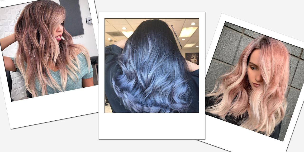 """<p>Ombré-the coloring technique where dyed hair gradually transitions from one color to another-can be universally flattering, regardless of your hair type or base shade. It allows you to go crazy with with vivid colors (or stay within your natural shade range if that's more your jam). To walk us through the tricks for ombré hair and how to maintain it, we turned to colorist and founder of #mydentity <a href=""""https://www.instagram.com/guy_tang/"""" target=""""_blank"""">Guy Tang</a> (he predicts loud bright ombré to be big this year). Scroll through to see his tips and for some of our favorite looks. </p>"""