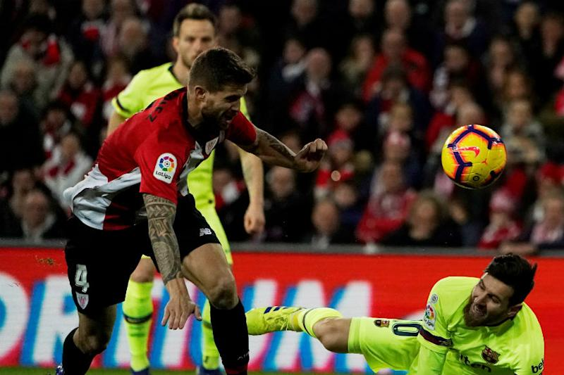 Barcelona Made to Sweat for Draw by Impressive Athletic Bilbao