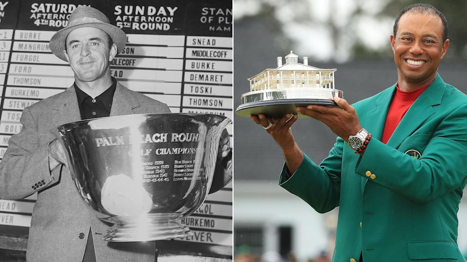 82 vs. 82: Complete list of Tiger's and Snead's PGA Tour wins