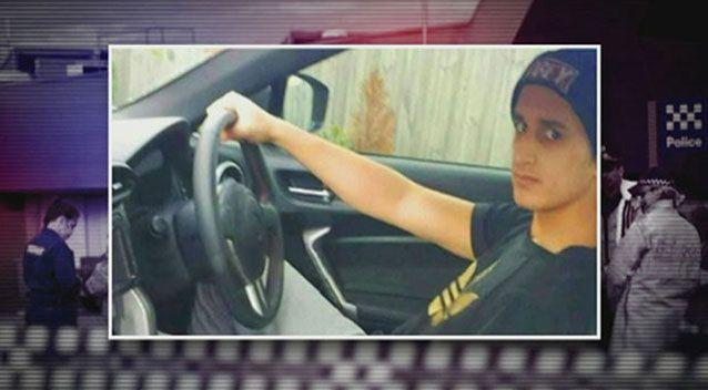 Numan Haider was shot dead during a knife attack on police. Photo: 7News file